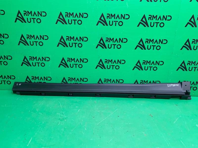 Накладка порога Ford Explorer 5 2010 левая (б/у)