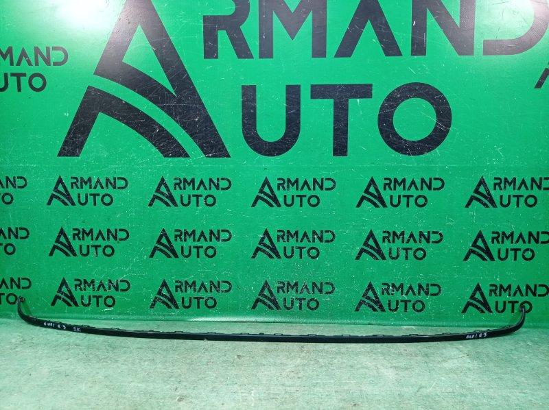 Декоративная накладка бампера Audi Q7 2 4M 2015 задняя (б/у)