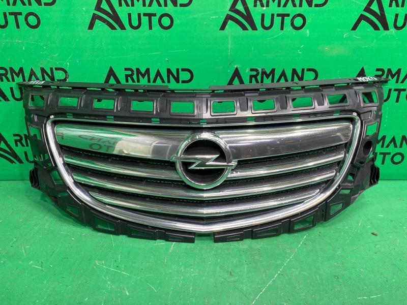Решетка радиатора Opel Insignia 2008 (б/у)