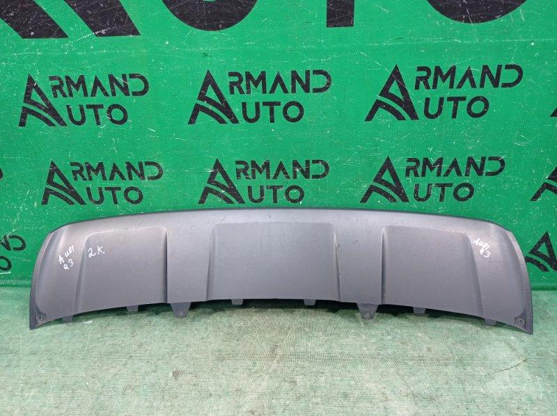 Накладка бампера Audi Q3 1 8U 2014 передняя (б/у)