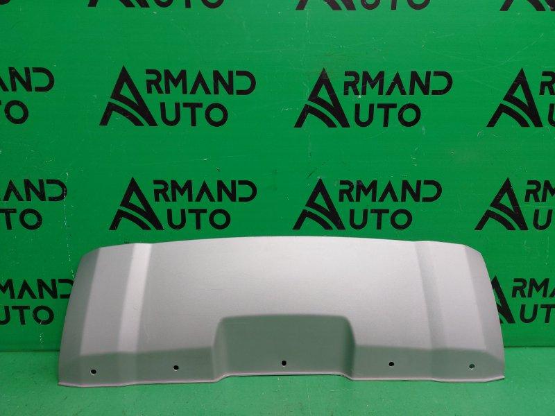 Накладка бампера Nissan Terrano 3 2014 передняя (б/у)