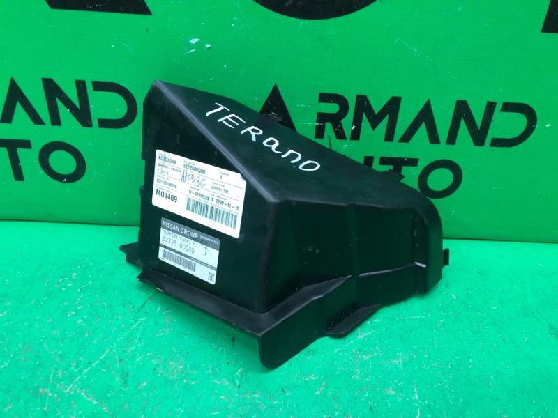 Воздуховод радиатора Nissan Terrano 3 2014 (б/у)