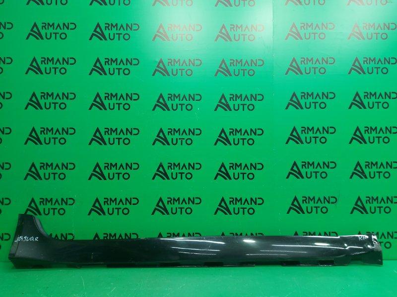 Накладка порога Jaguar Xf 1 2007 правая (б/у)
