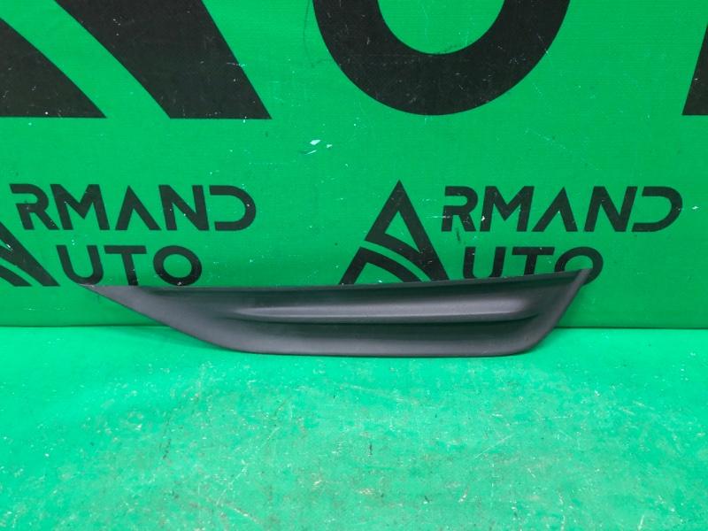 Накладка бампера Volvo S60 2 РЕСТАЙЛИНГ 2013 передняя левая (б/у)