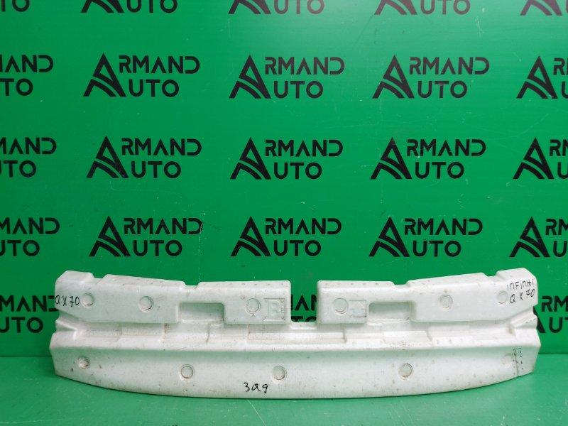 Абсорбер бампера Infiniti Qx70 1 2008 задний (б/у)
