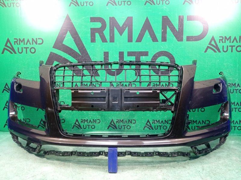 Бампер Audi Q7 1 4L 2009 передний (б/у)