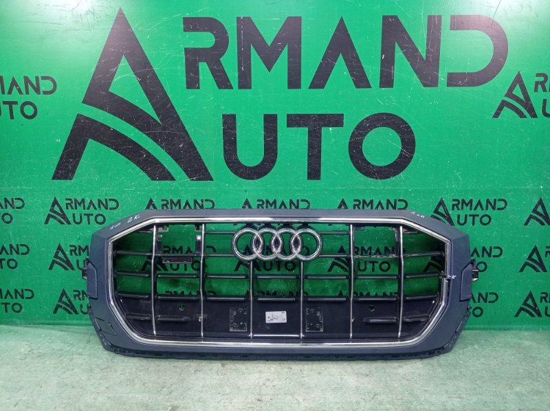 Решетка радиатора Audi Q8 1 2018 (б/у)
