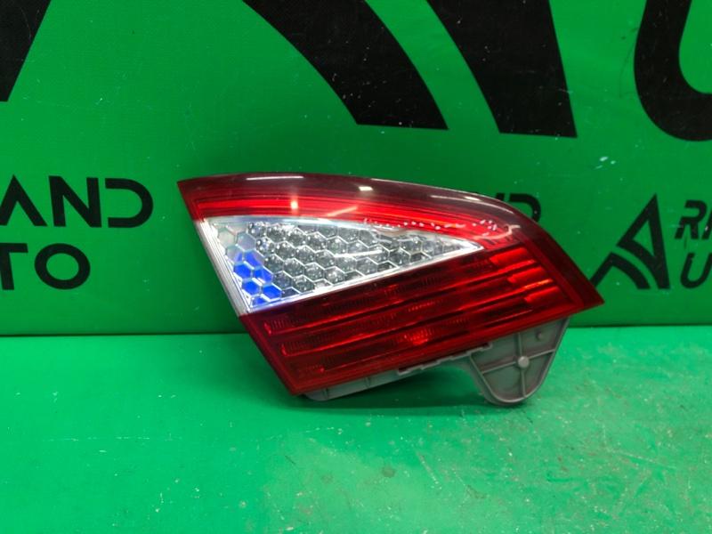 Фонарь внутренний Ford Mondeo 4 РЕСТАЙЛИНГ 2010 левый (б/у)
