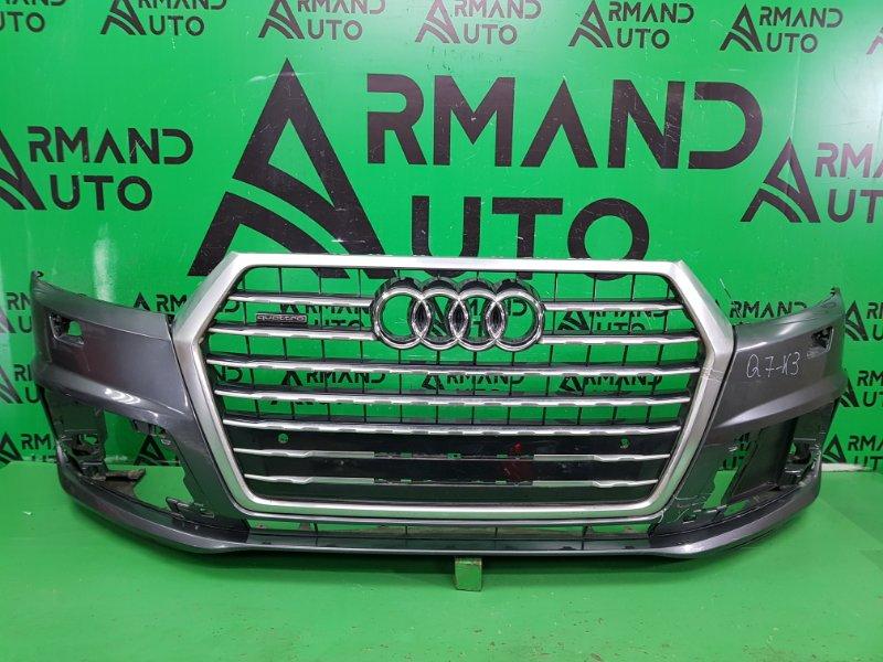Бампер Audi Q7 4M 2015 передний (б/у)