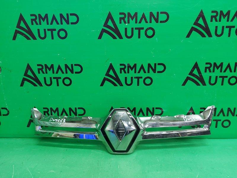 Накладка решетки радиатора Renault Duster 1 2010 (б/у)