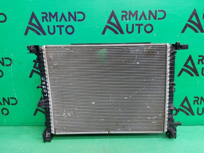 Радиатор охлаждения Renault Kaptur 1 2016 (б/у)