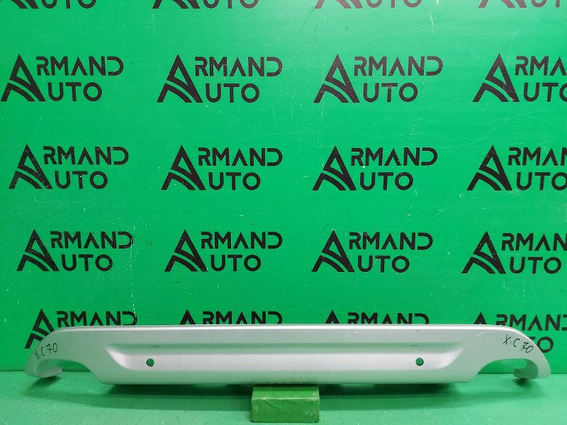 Накладка бампера Volvo Xc70 2 2007 задняя (б/у)
