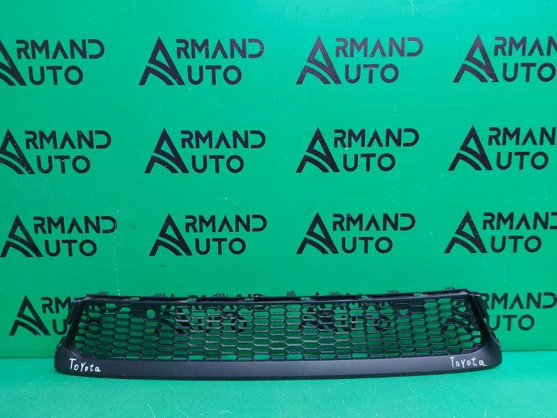 Решетка бампера Lexus Gx 2 РЕСТАЙЛИНГ 2013 передняя (б/у)