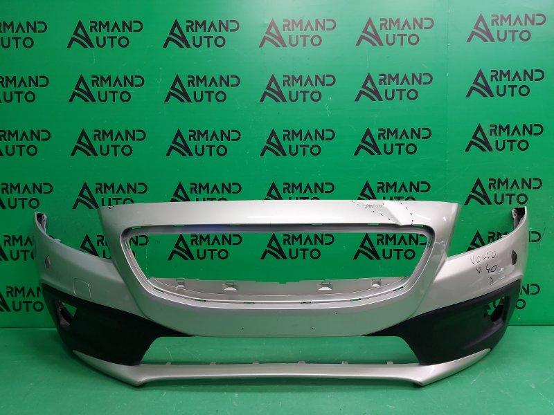 Бампер Volvo V40 Cross Country 1 2012 передний (б/у)