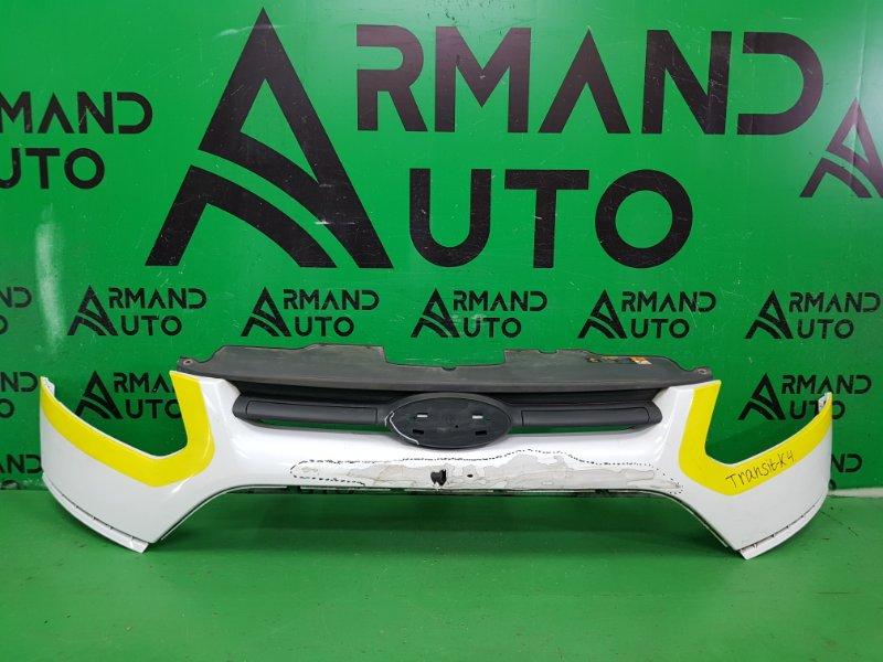Бампер Ford Tourneo Custom 1 2012 передний верхний (б/у)