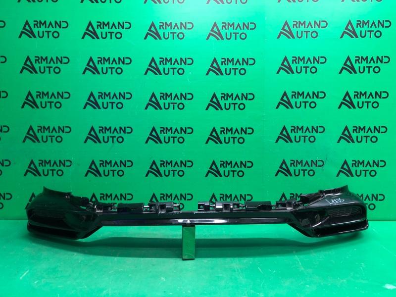 Юбка бампера Lexus Lx 3 TRD Superior РЕСТАЙЛИНГ  2015 передняя (б/у)