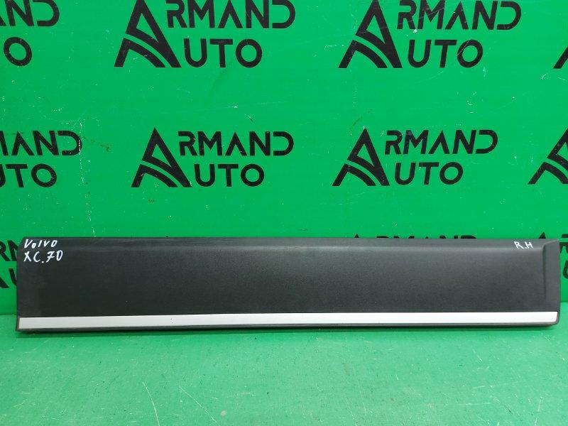 Накладка двери Volvo Xc70 2 2007 передняя правая (б/у)