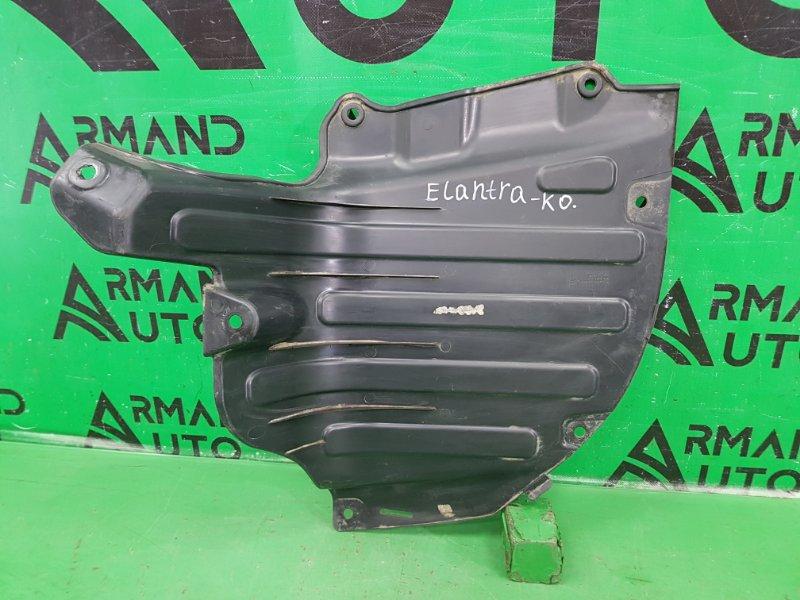 Защита бампера Hyundai Elantra 6 2015 задняя левая (б/у)