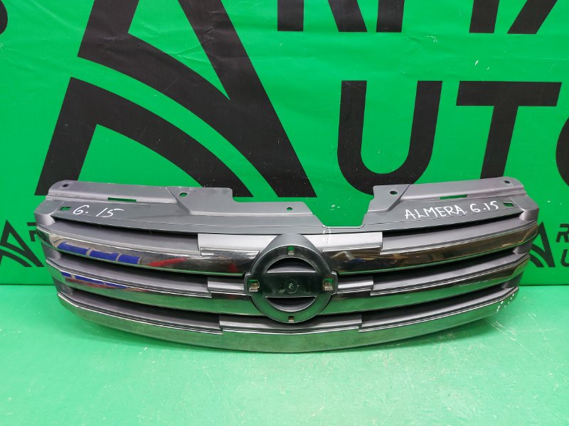 Решетка радиатора Nissan Almera G15 2012 (б/у)