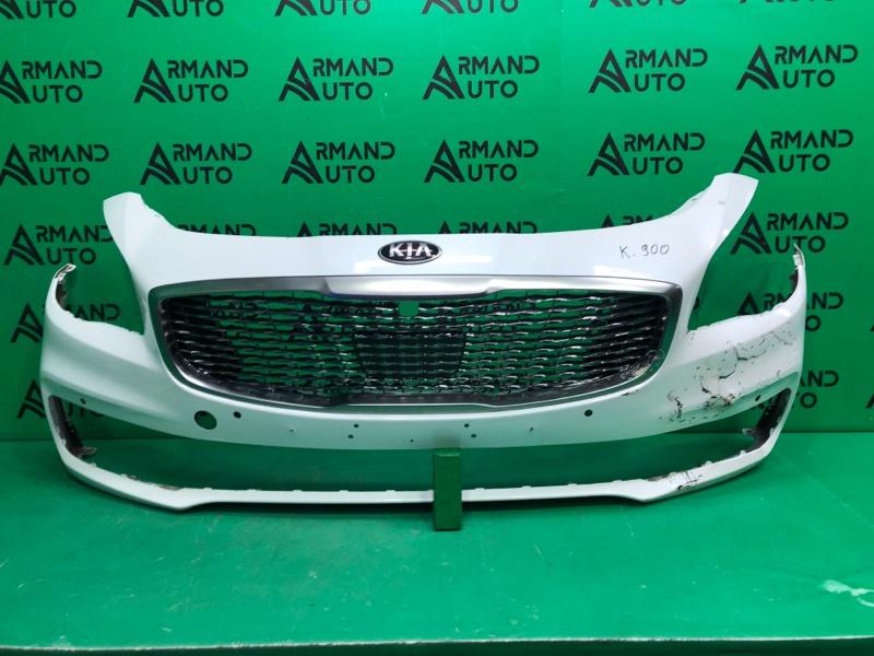 Бампер Kia K900 2 2018 передний (б/у)
