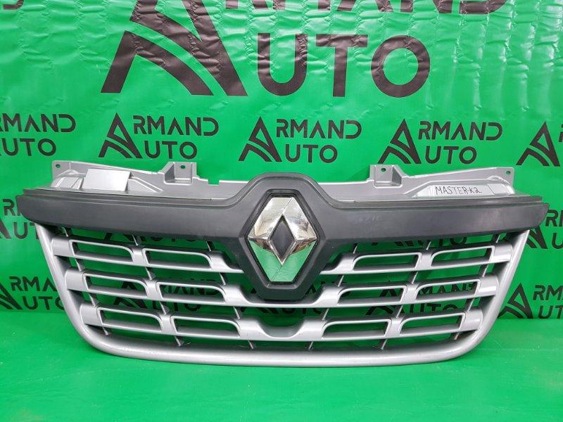 Решетка радиатора Renault Master 3 2010 (б/у)