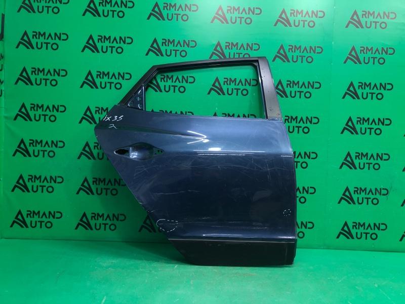 Дверь Hyundai Ix35 1 2010 задняя правая (б/у)