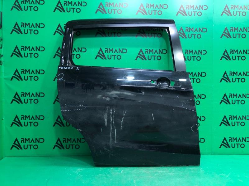 Дверь Mazda 5 1 2005 задняя правая (б/у)