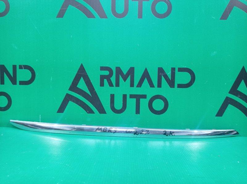 Молдинг бампера Mercedes S-Class W222 2013 задний правый (б/у)