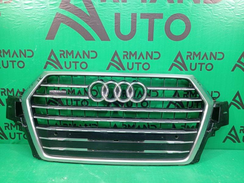 Решетка радиатора Audi Q7 2 4M 2015 (б/у)