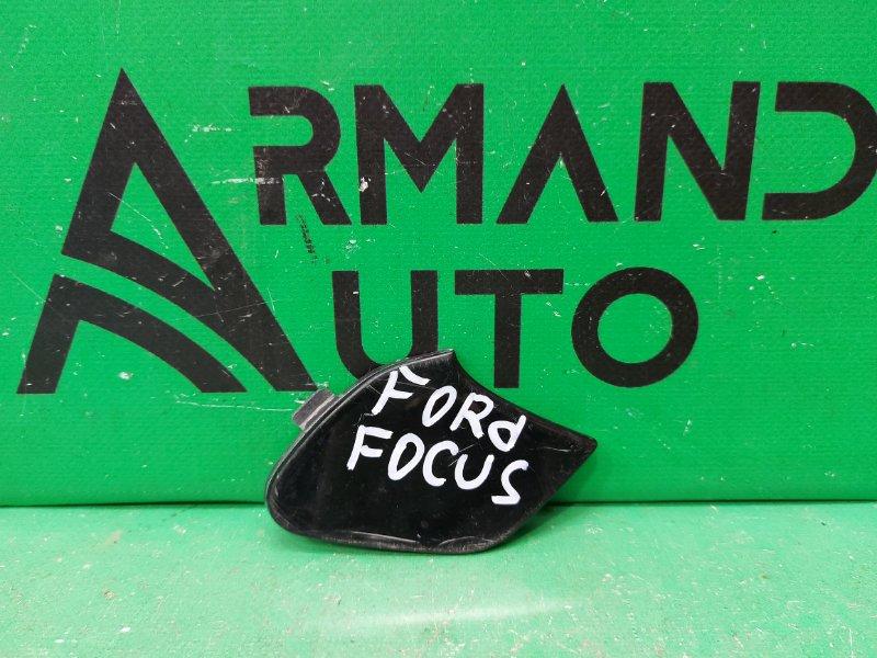 Заглушка буксировочного крюка Ford Focus 3 2011 передняя (б/у)