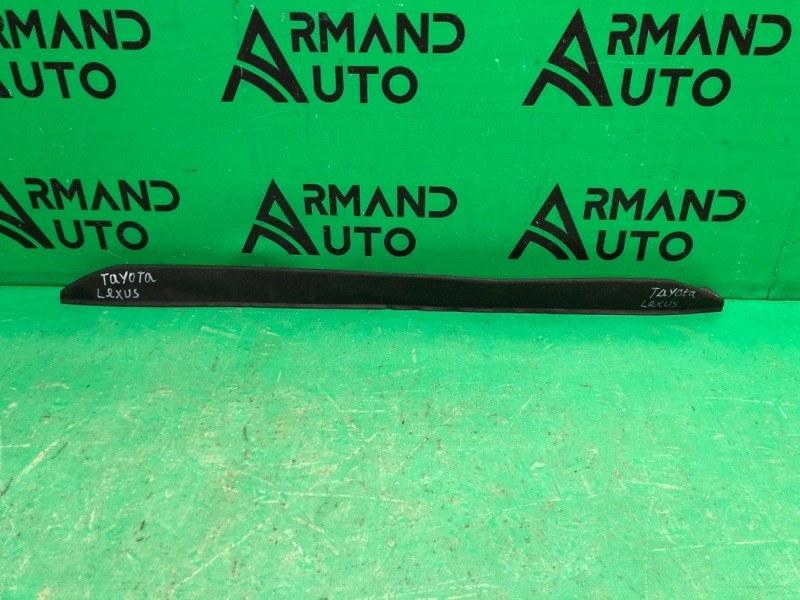 Накладка бампера Toyota Aygo 1 РЕСТАЙЛИНГ 2 2012 передняя нижняя (б/у)