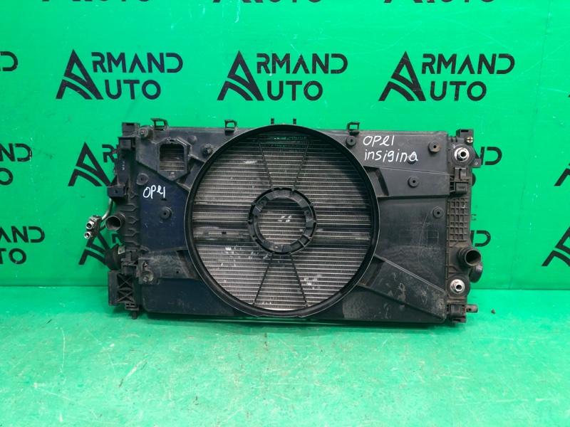 Кассета радиаторов Opel Astra J 2009 (б/у)