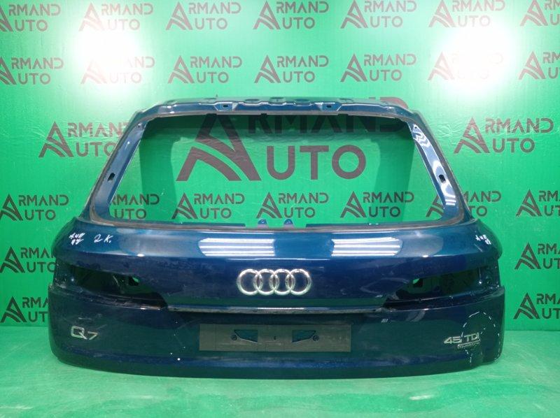 Дверь багажника Audi Q7 2 4M 2019 (б/у)