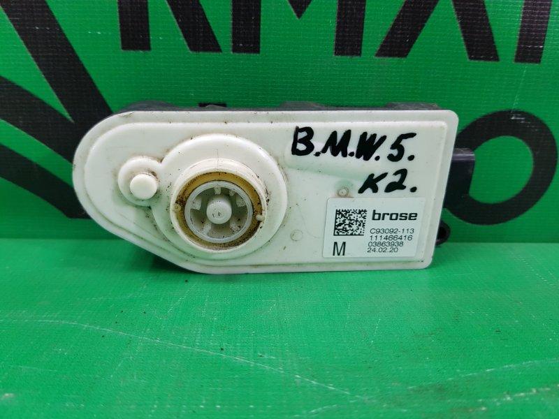 Моторчик заслонки радиатора Bmw 5 G30 2016 (б/у)