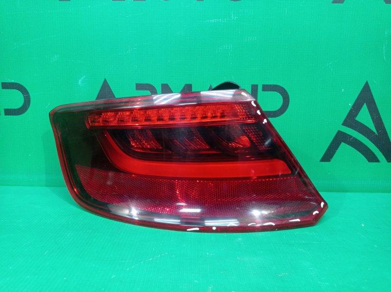 Фонарь внешний Audi A3 3 8V 2012 левый (б/у)