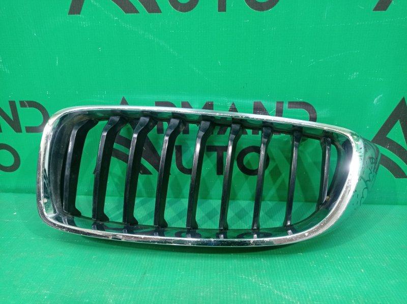 Решетка радиатора Bmw 4 Series F32 F33 F36 2013 левая (б/у)