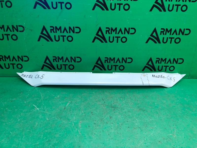 Накладка решетки радиатора Mazda Cx5-Cx5 2 2017 передняя (б/у)