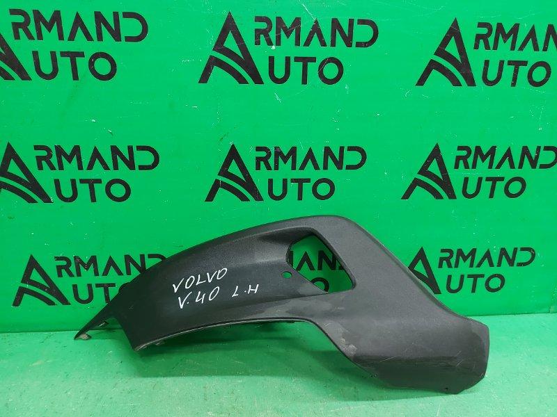 Накладка птф Volvo V40 Cross Country 1 2012 левая (б/у)
