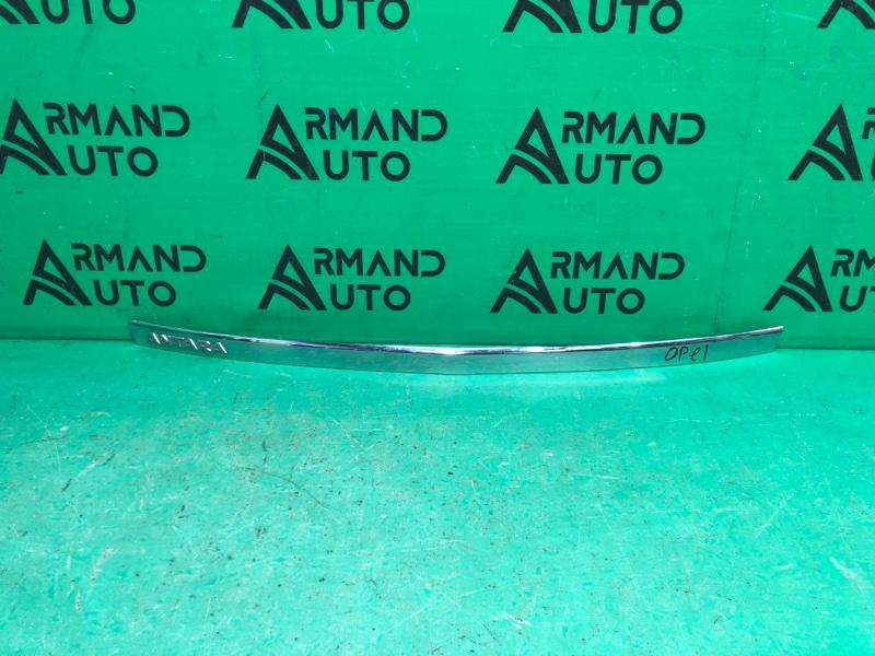 Накладка крышки багажника Opel Antara 1 2006 (б/у)