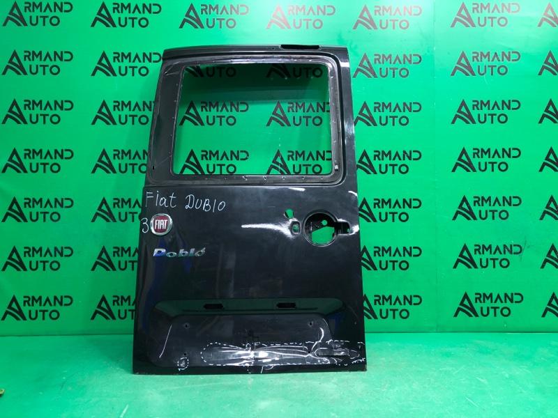 Дверь багажника Fiat Doblo 1 РЕСТАЙЛИНГ 2005 левая (б/у)
