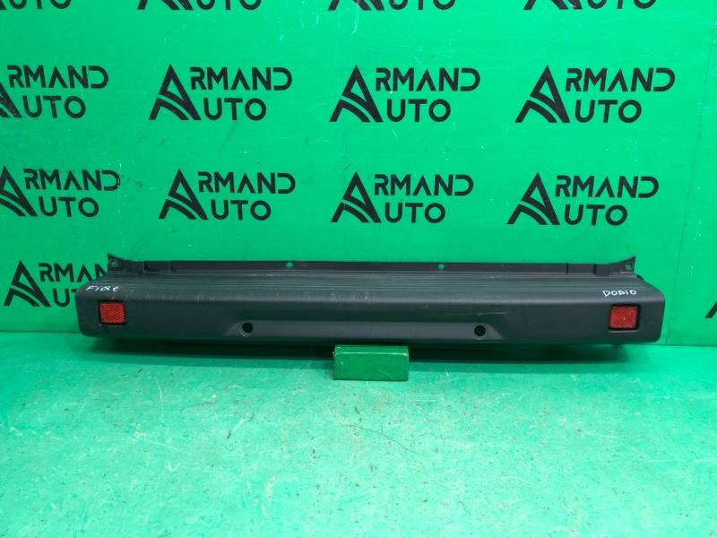 Бампер Fiat Doblo 1 РЕСТАЙЛИНГ 2005 задний (б/у)