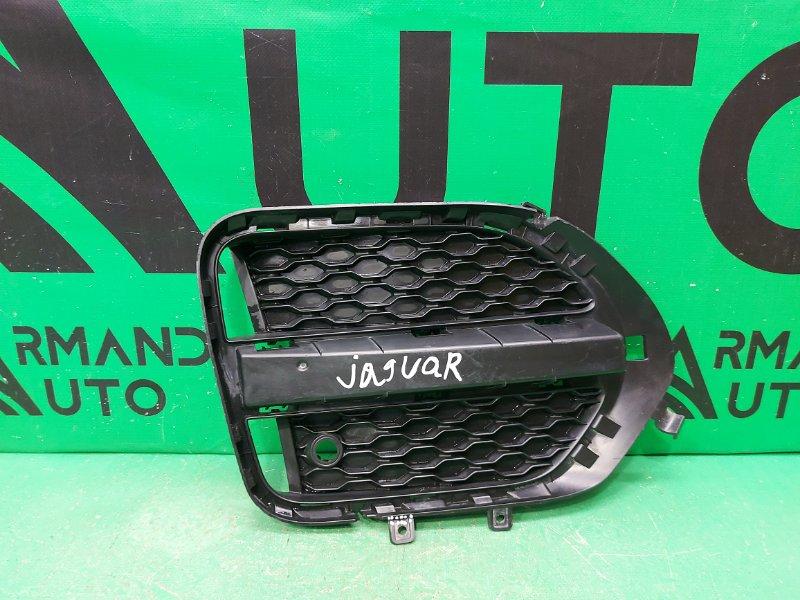 Накладка птф Jaguar F-Pace 1 2016 правая (б/у)
