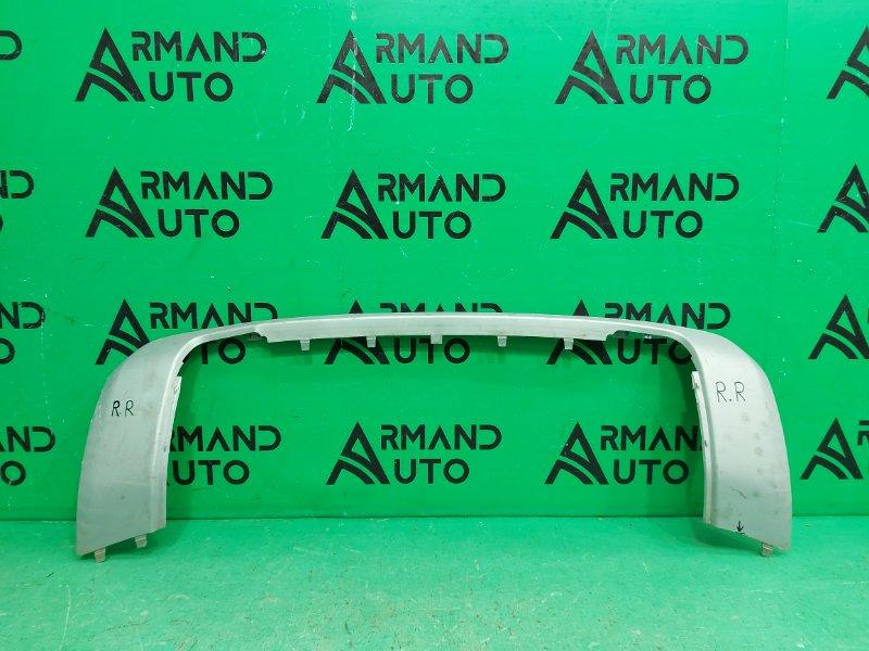 Накладка бампера Land Rover Discovery Sport 1 2014 задняя (б/у)
