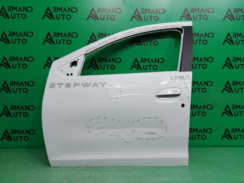 Дверь Renault Sandero Stepway 2 2014 передняя левая (б/у)