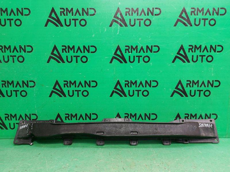 Усилитель бампера Hyundai Santa Fe 2 2005 задний (б/у)