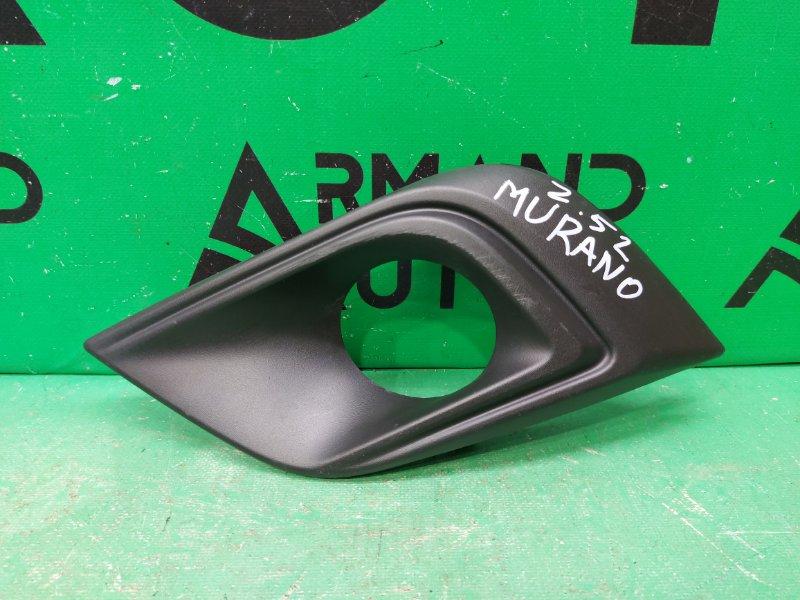 Накладка птф Nissan Murano Z52 2014 левая (б/у)
