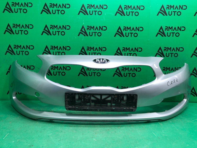 Бампер Kia Ceed 2 2012 передний (б/у)