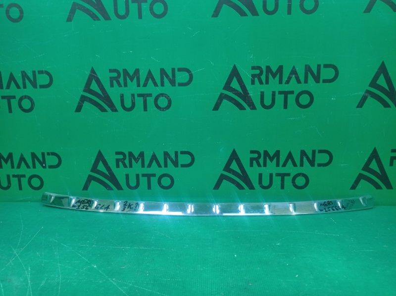 Накладка бампера Mercedes Gla-Class X156 2013 задняя верхняя (б/у)