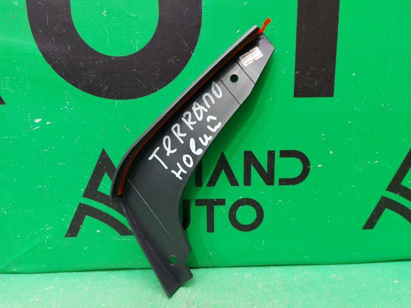 Накладка порога Nissan Terrano 3 2014 задняя правая (б/у)