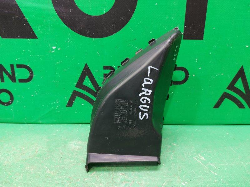 Дефлектор радиатора Lada Largus 1 2012 левый (б/у)